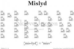 Mislyd