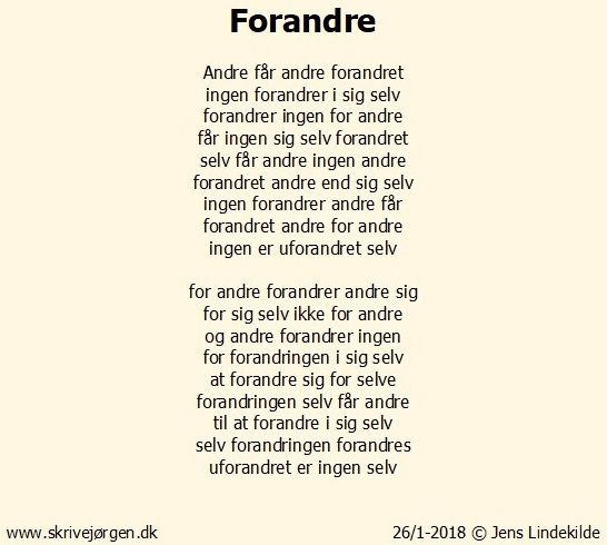 Forandre