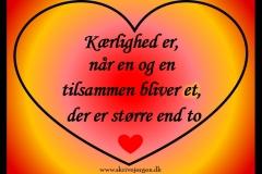 Kærlighed er
