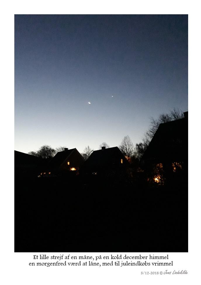Et lille strejf af en måne