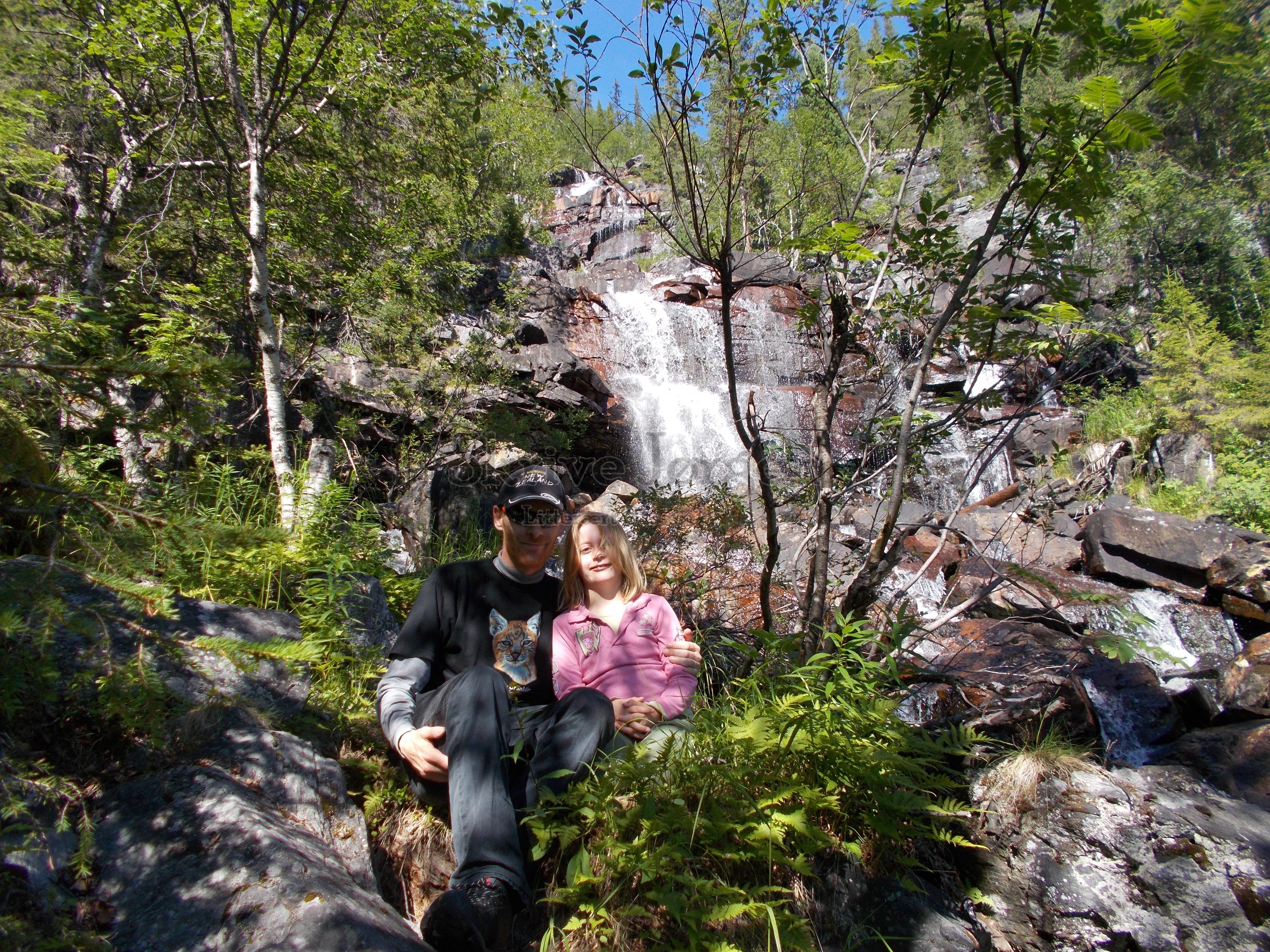 Idyl ved Brudslöjan nær Kvikkjokk