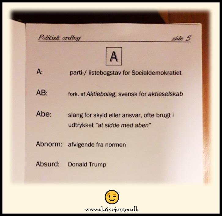 Politisk-ordbog